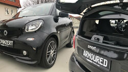 Carmored Panzer Smart Brabus Kugelsicher