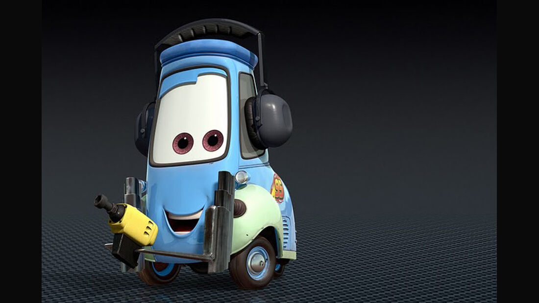 Cars 2, Guido