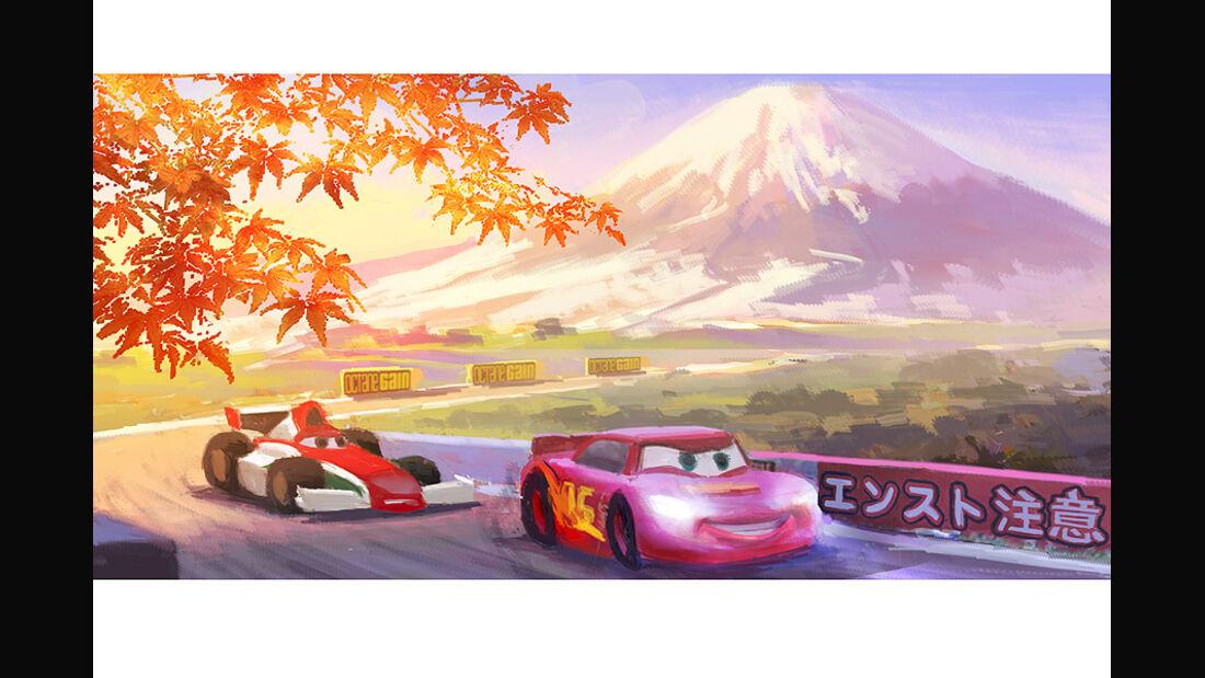 Cars 2, Japan, Tokio
