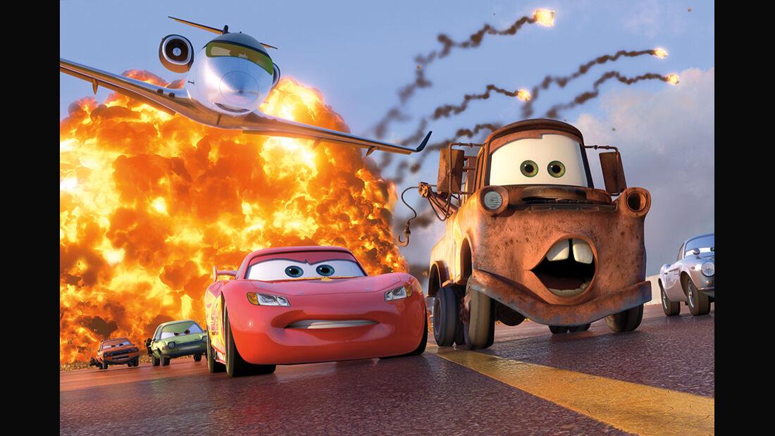 Cars 2, Lightning McQueen, Hook