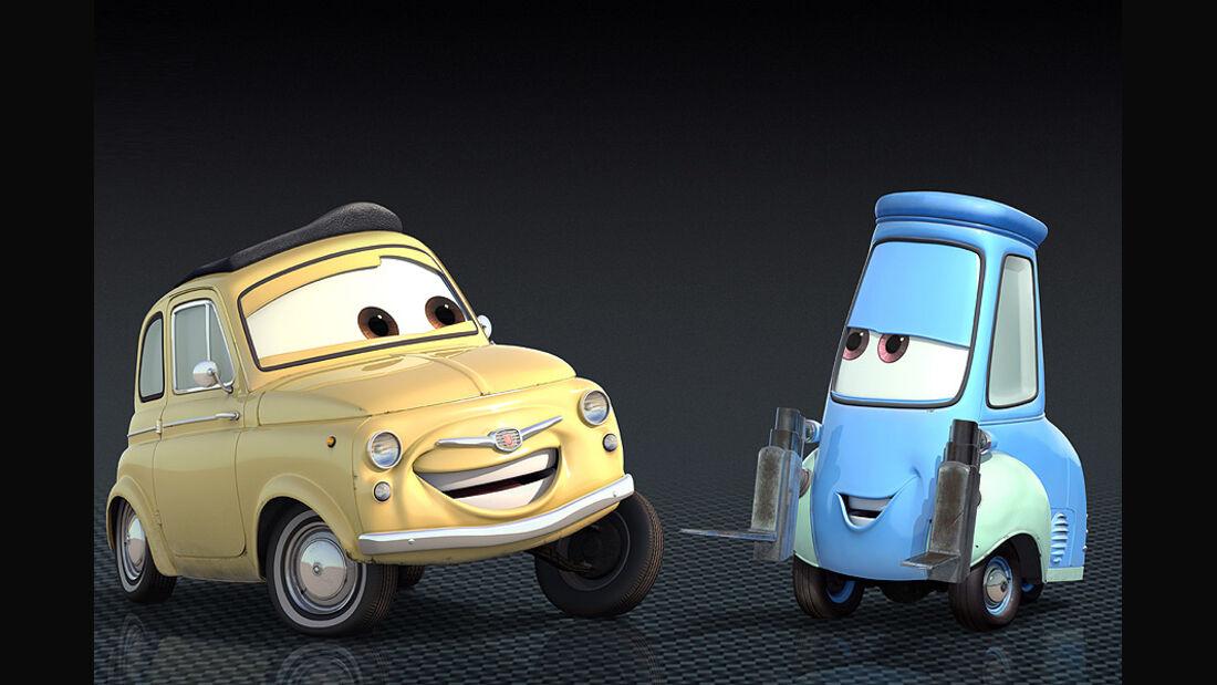 Cars 2, Luigi und Guido