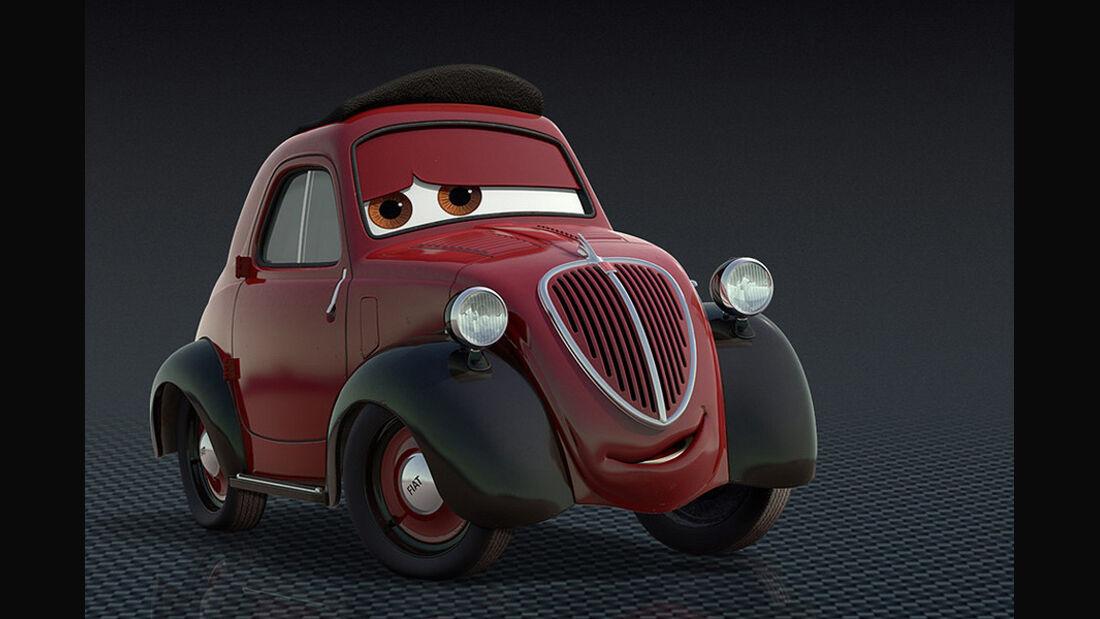Cars 2, Mama Topolino