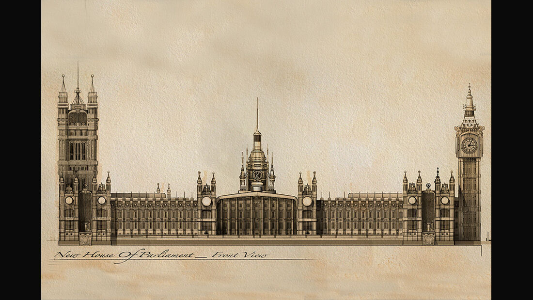 Cars 2,  New House of Parliament