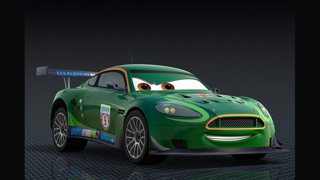 Cars 2, Nigel Gearsley