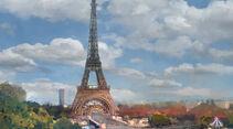 Cars 2, Paris, Eiffelturm, Frankreich