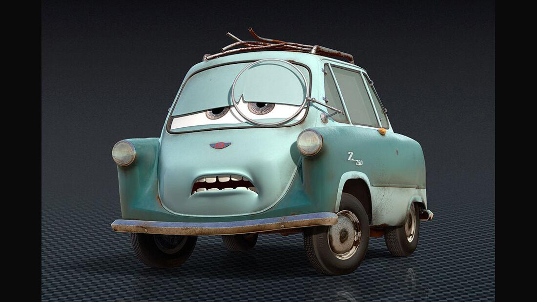 Cars 2, Professor Z