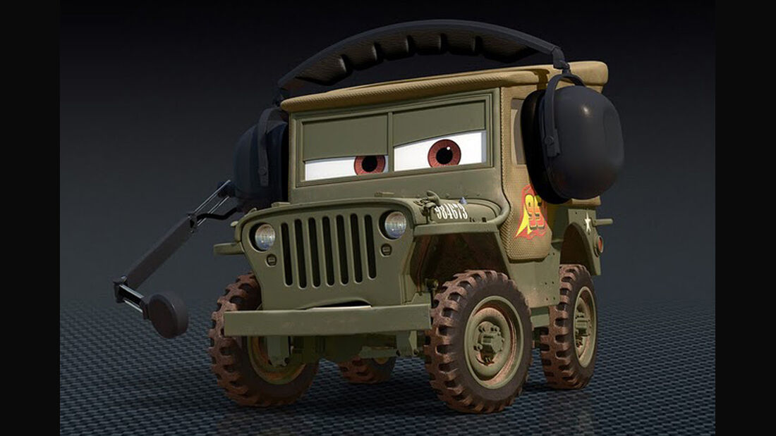 Cars 2, Sarge