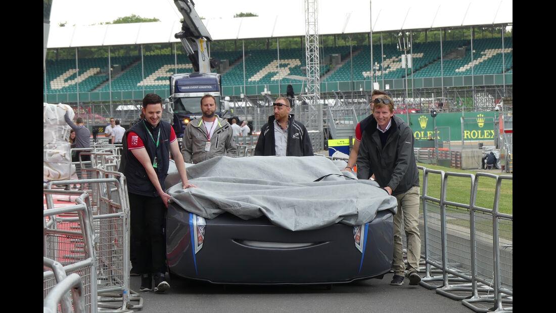 Cars - Formel 1 - GP England - 13. Juli 2017