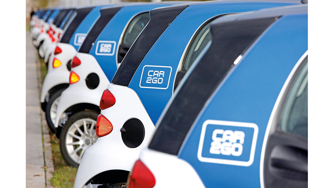 Carsharing, Car2Go-Flotte
