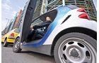 Carsharing, Car2go, Einsteigen