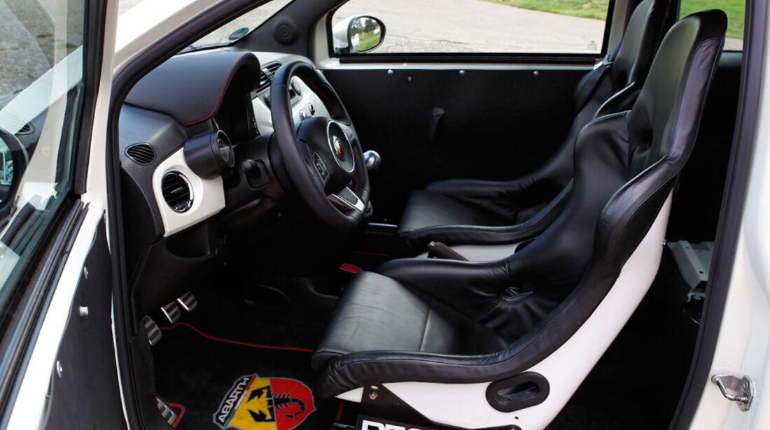 Cartech-Abarth 500 Coppa, Fahrersitz