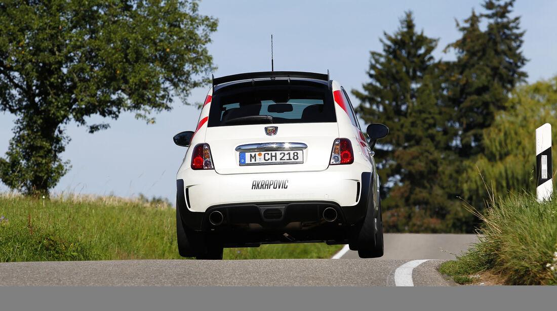 Cartech-Abarth 500 Coppa, Heck