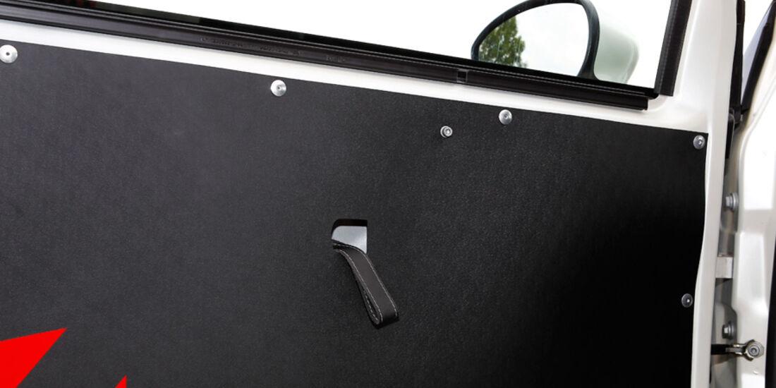 Cartech-Abarth 500 Coppa, Seitentür, Detail