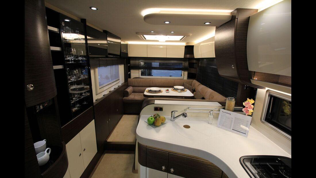 Carvan Salon 2016, Luxusmodelle