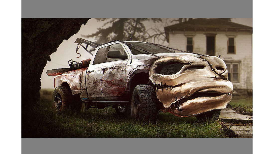Carwow Halloween Autos