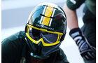Caterham - 2013 - Mechaniker - Helme - Formel 1
