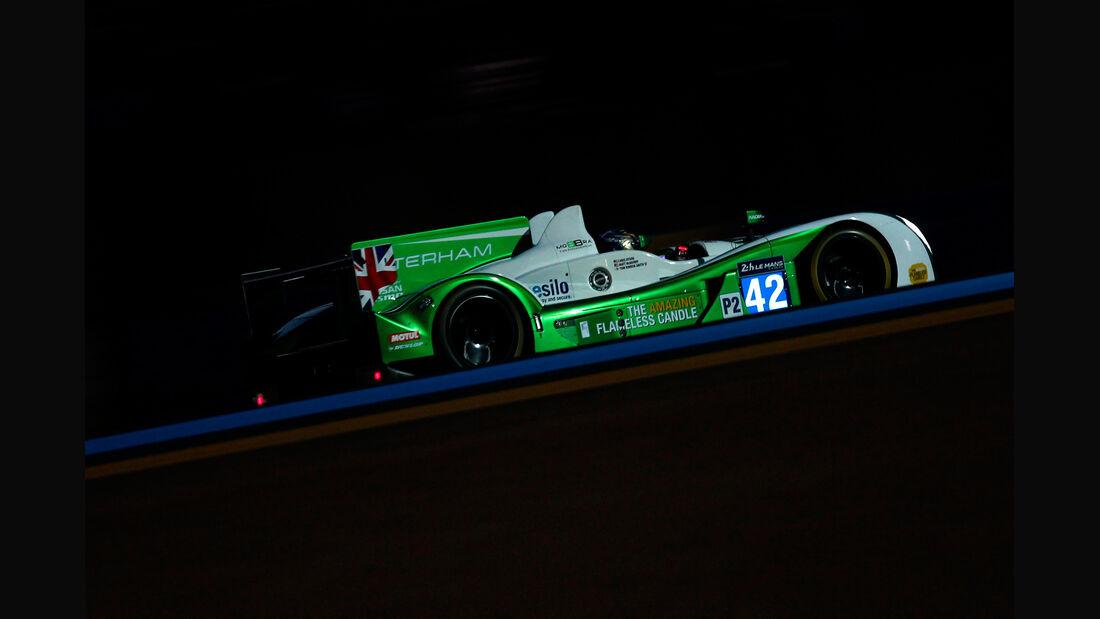 Caterham - 24h Le Mans - 11. Juni 2014