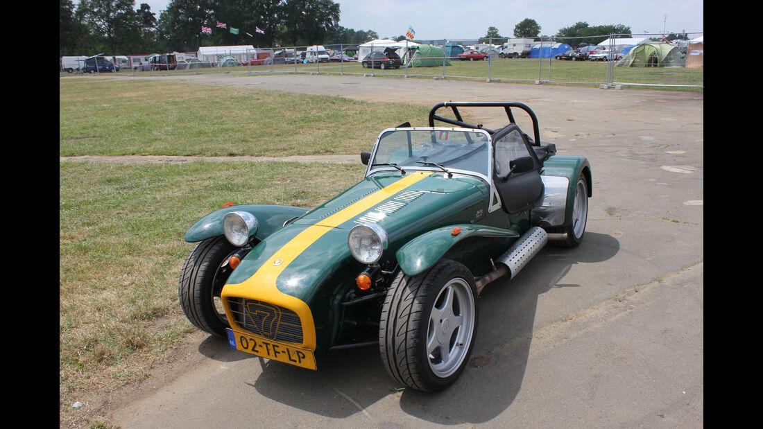 Caterham 7 - Fan-Autos - 24h-Rennen Le Mans 2015
