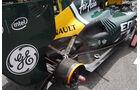 Caterham Auspuff GP Spanien 2012