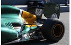 Caterham Auspuff Jerez Test 2012
