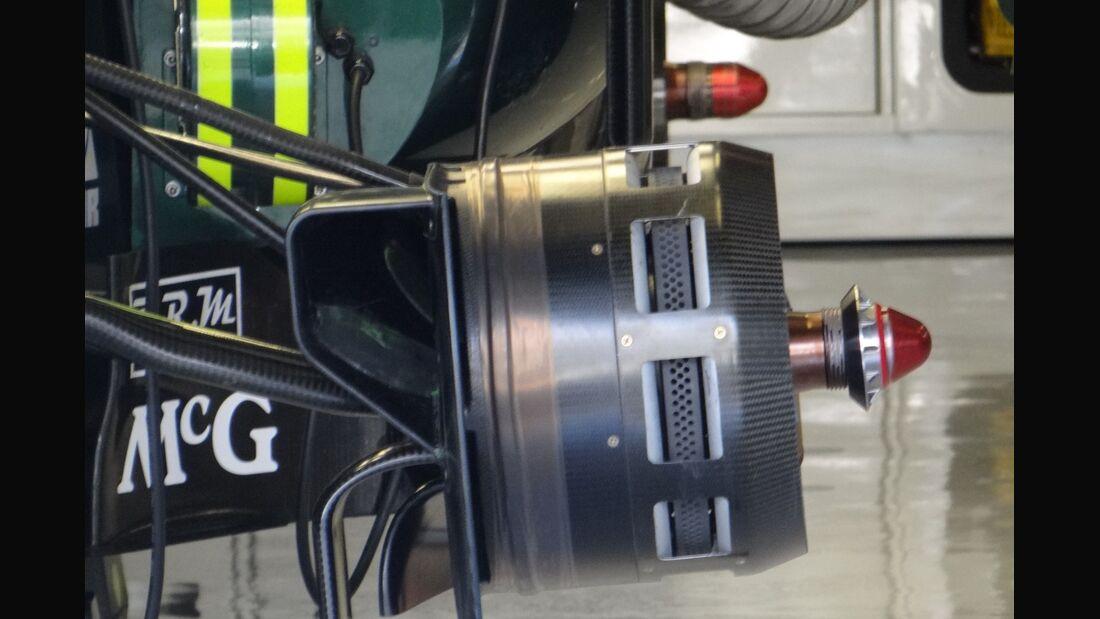 Caterham Bremsbelüftung - Formel 1 - GP Abu Dhabi - 01. November 2012