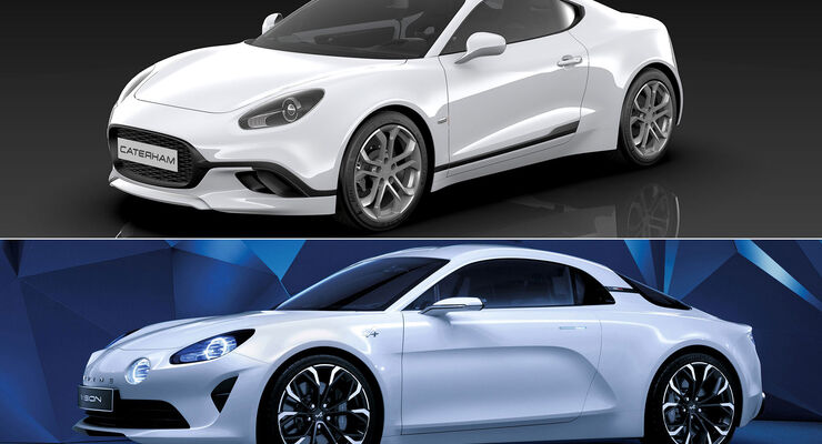 Caterham C120 - Sportwagen - Concept - Renault Alpine