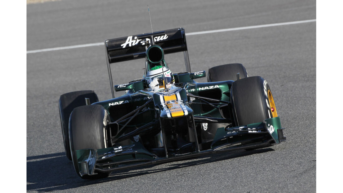 Caterham CT01 Formel 1 Jerez 2012