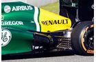 Caterham CT03 Auspuff F1 2013