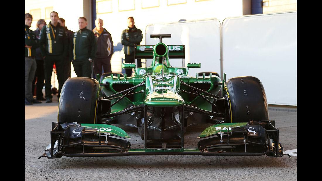 Caterham CT03 Launch Jerez 2013