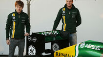 Caterham CT03 Launch Jerez 2013
