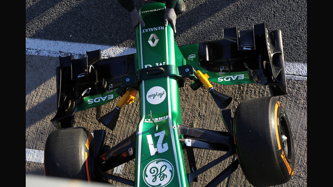 Caterham F1 Test Jerez 2013 Highlights