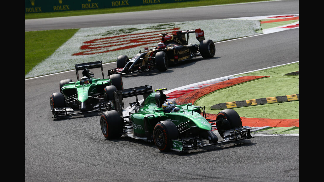 Caterham - Formcheck - GP Italien 2014
