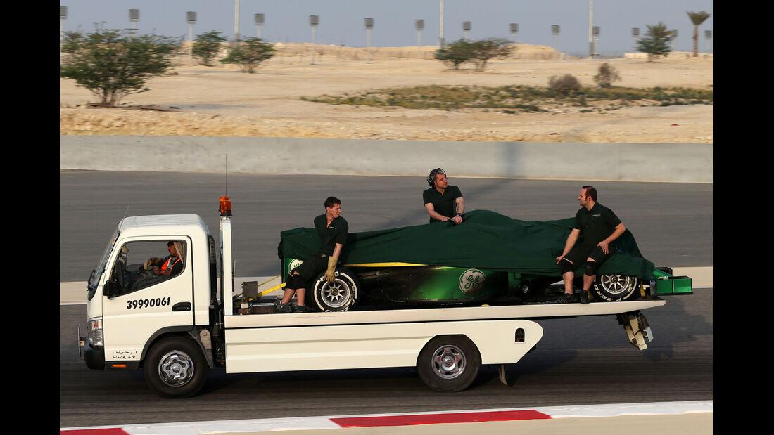 Caterham - Formel 1 - Bahrain-Test 2014