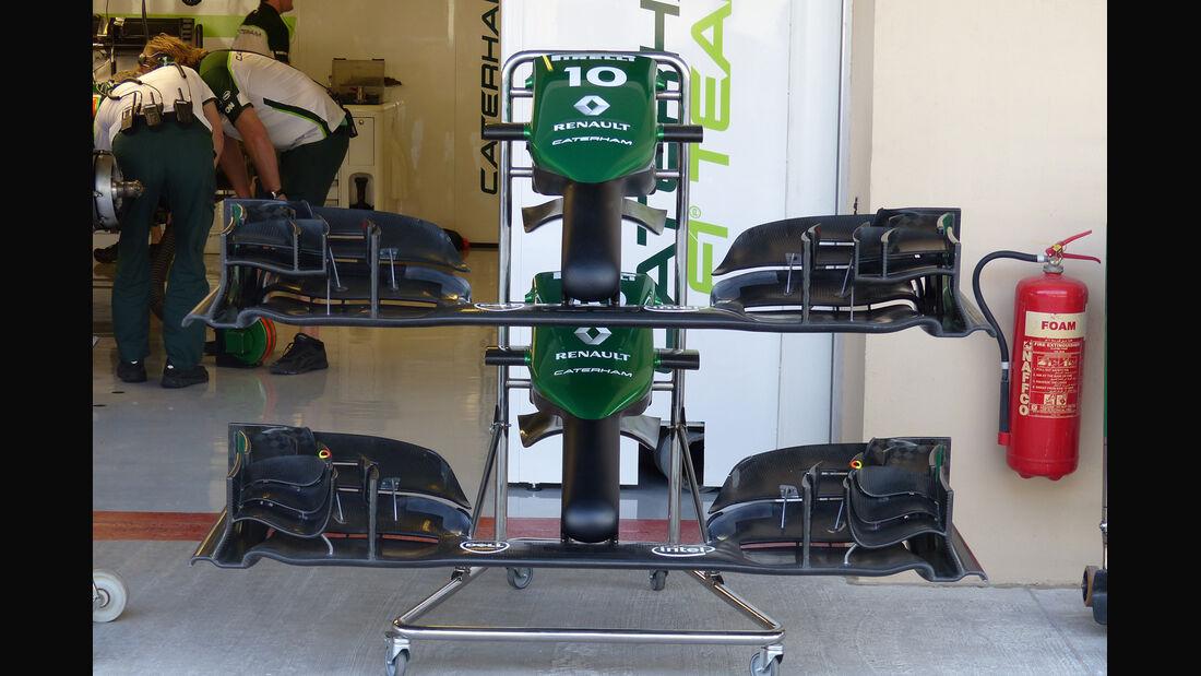 Caterham - Formel 1 - GP Abu Dhabi - 21. November 2014