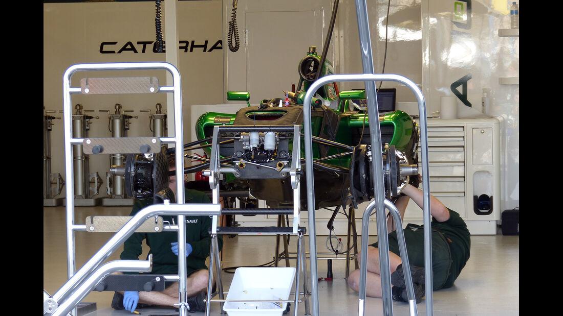 Caterham - Formel 1 - GP Australien - 12. März 2014