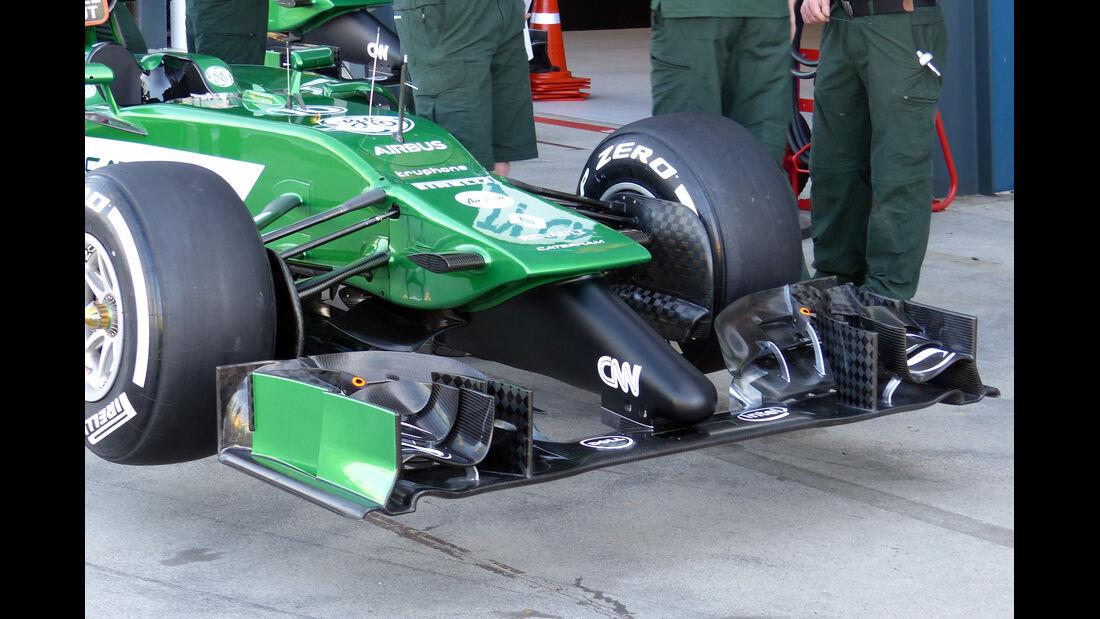 Caterham - Formel 1 - GP Australien 2014 - Technik