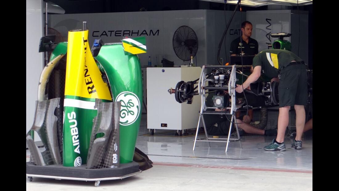 Caterham - Formel 1 - GP Bahrain - 18. April 2013
