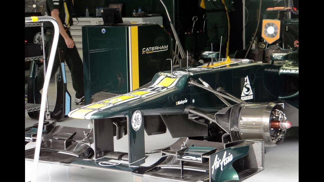 Caterham - Formel 1 - GP Bahrain - 20. April 2012