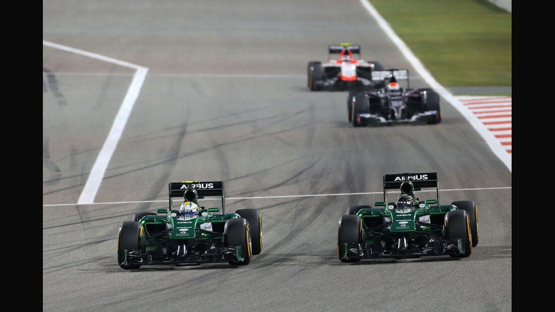 Caterham - Formel 1 - GP Bahrain 2014