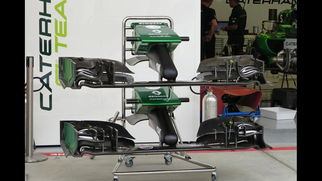 Caterham - Formel 1 - GP Bahrain - Sakhir - 3. April 2014