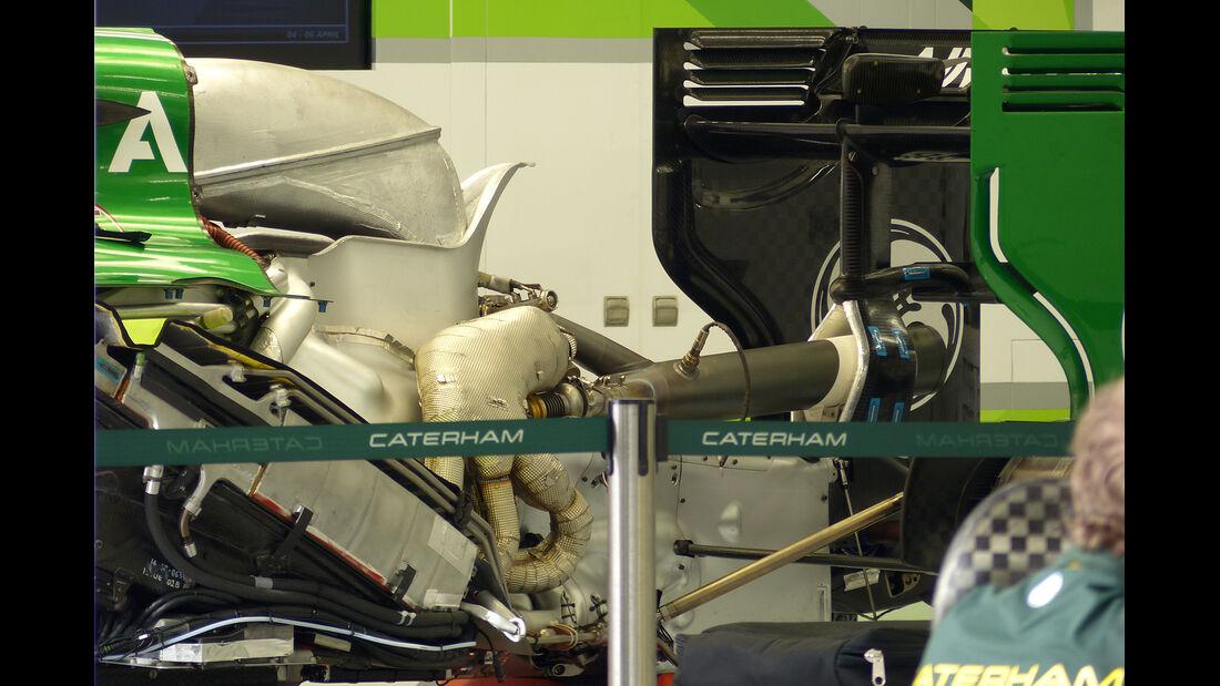Caterham - Formel 1 - GP Bahrain - Sakhir - 4. April 2014