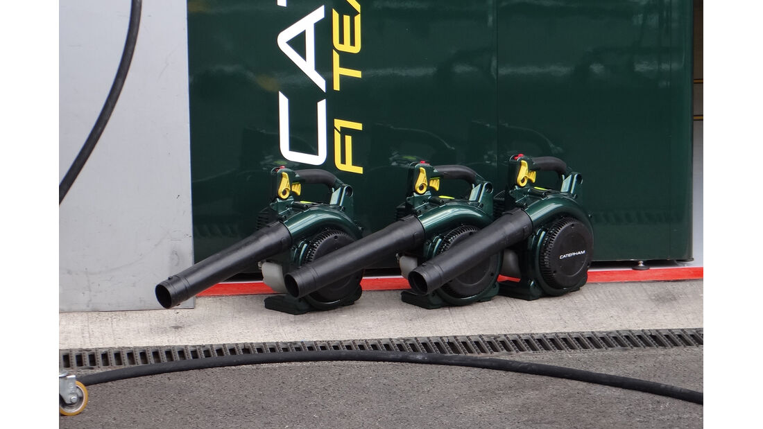 Caterham - Formel 1 - GP Belgien - Spa - 30.8.2012