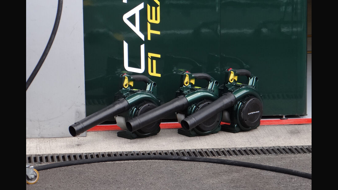 Caterham - Formel 1 - GP Belgien - Spa - 30.8.2012