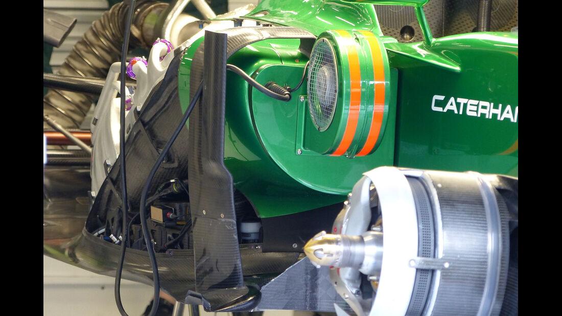 Caterham - Formel 1 - GP Belgien - Spa-Francorchamps - 22. August 2014