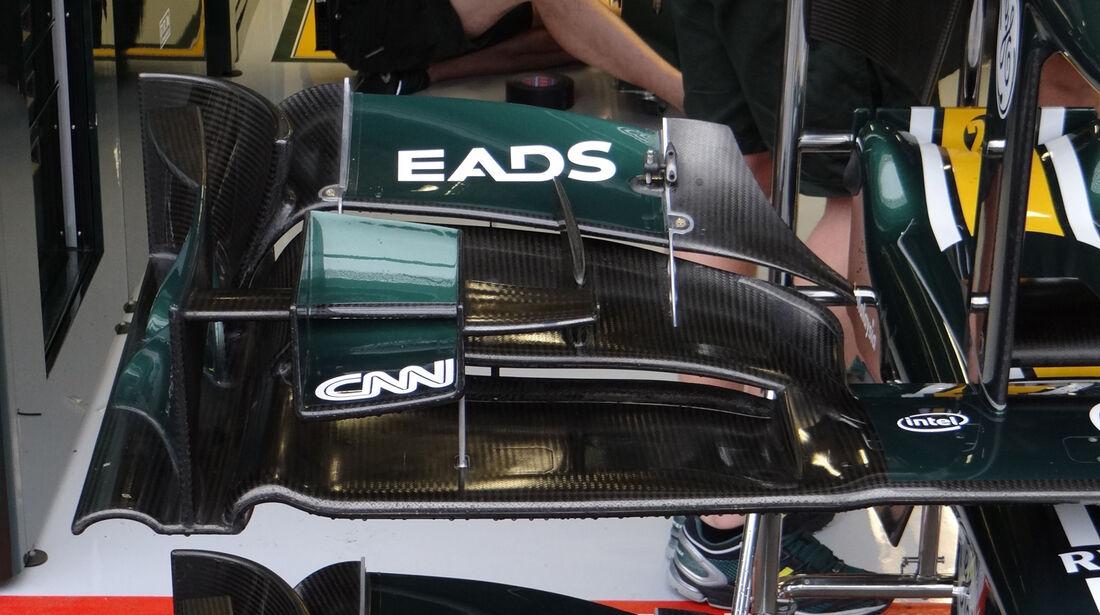 Caterham - Formel 1 - GP Belgien - Spa-Francorchamps - 31. August 2012