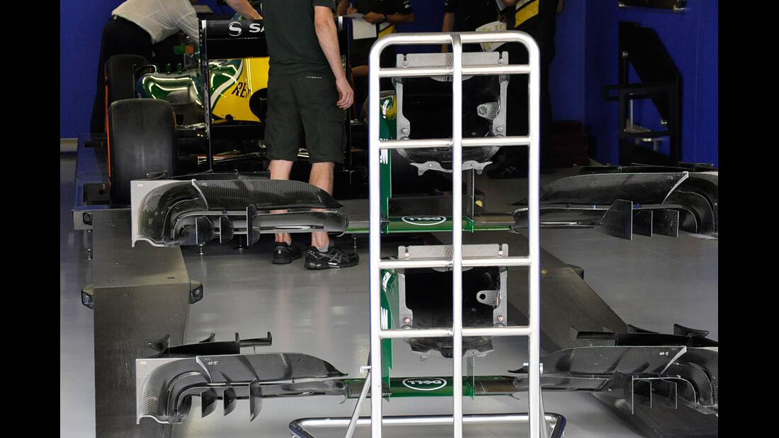 Caterham - Formel 1 - GP Brasilien - 21. November 2013