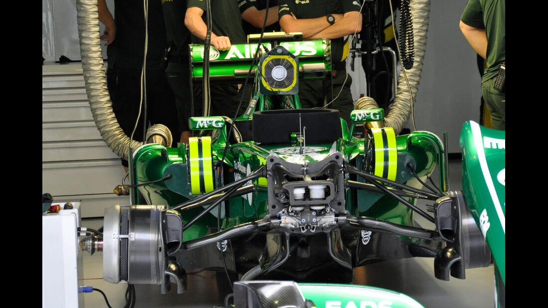 Caterham - Formel 1 - GP Brasilien - 22. November 2013