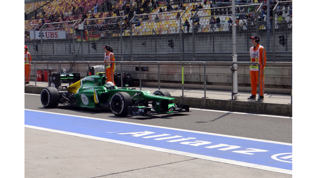 Caterham - Formel 1 - GP China - 12. April 2013