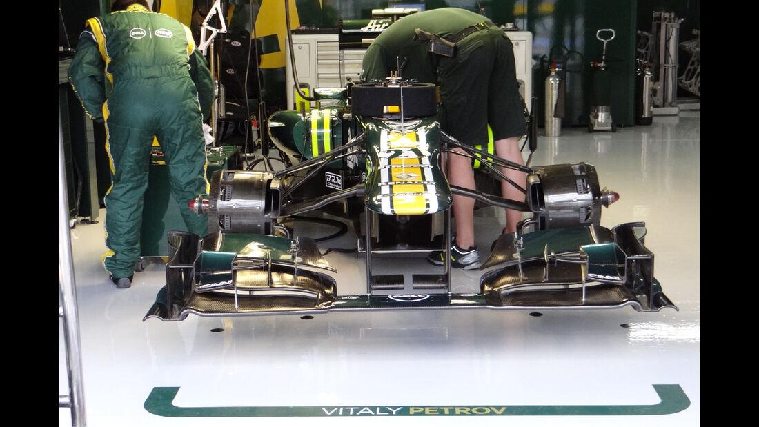 Caterham - Formel 1 - GP Deutschland - 20. Juli 2012