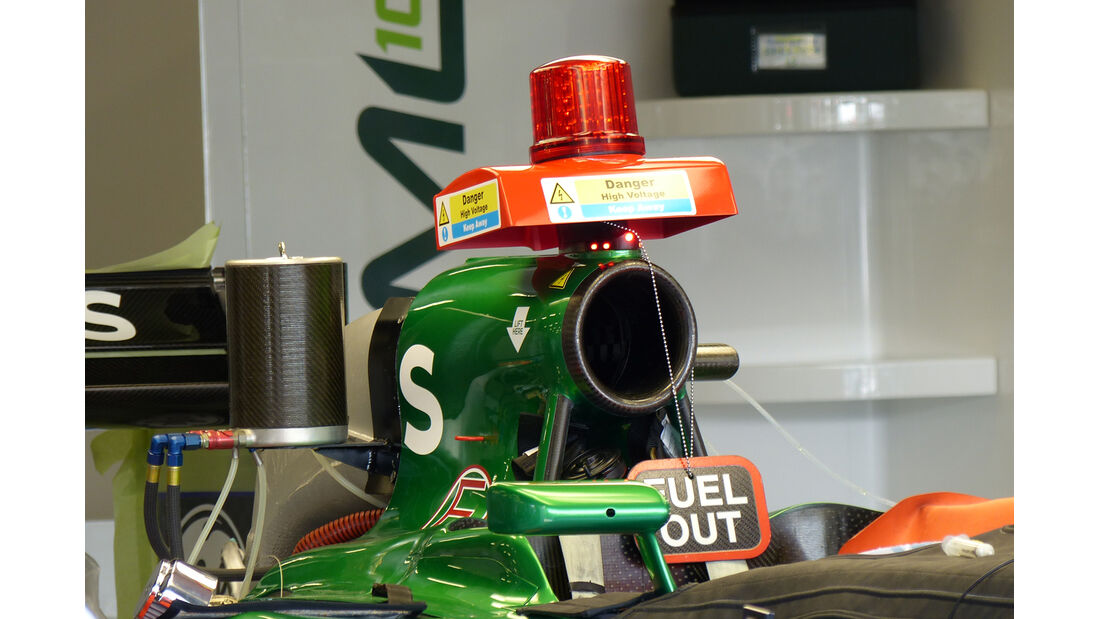Caterham - Formel 1 - GP England - Silverstone - 3. Juli 2014